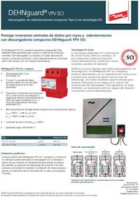 Supresor rayo y sobretensión DEHNguard® YPV SCI