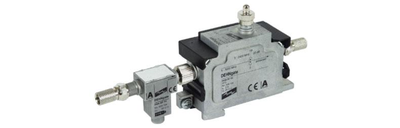 Descargador combinado contra rayos y sobretensiones DEHNgate DGA GFF TV, referencia 909705.
