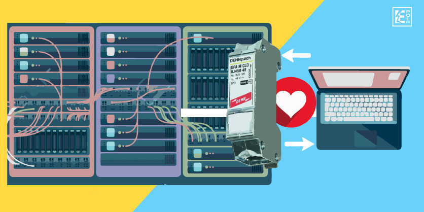 5 razones para escoger el DEHNpatch, supresor de picos para Ethernet
