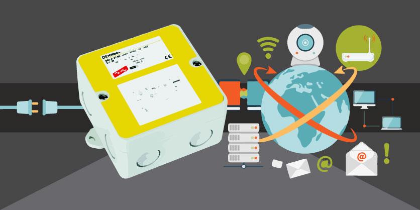 DEHNbox DBX U4 KT BD S 0-180, potente descargador combinado para telecomunicaciones y transmisión de datos