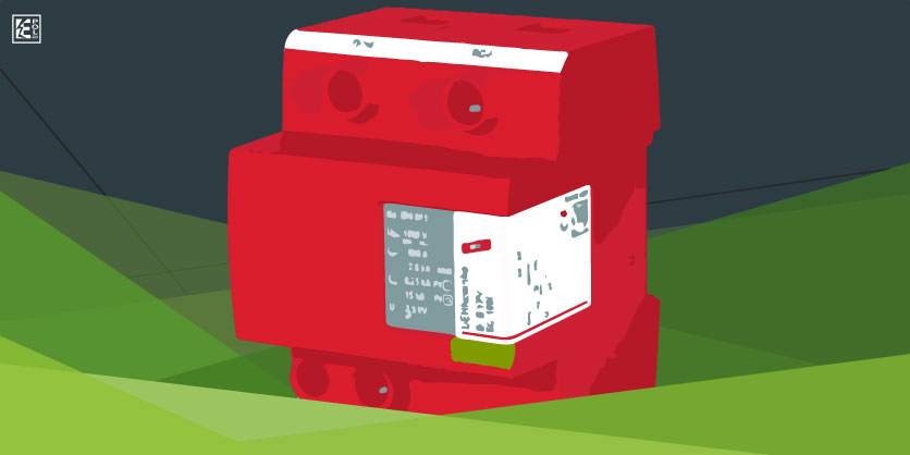 DEHNcombo YPV SCI (FM), descargador contra rayos y sobretensiones para sistemas fotovoltaicos