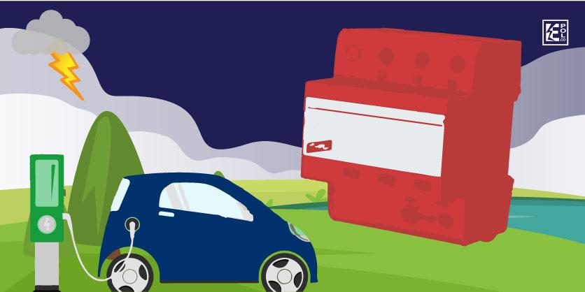 DPS supresor eléctrico para autos eléctricos