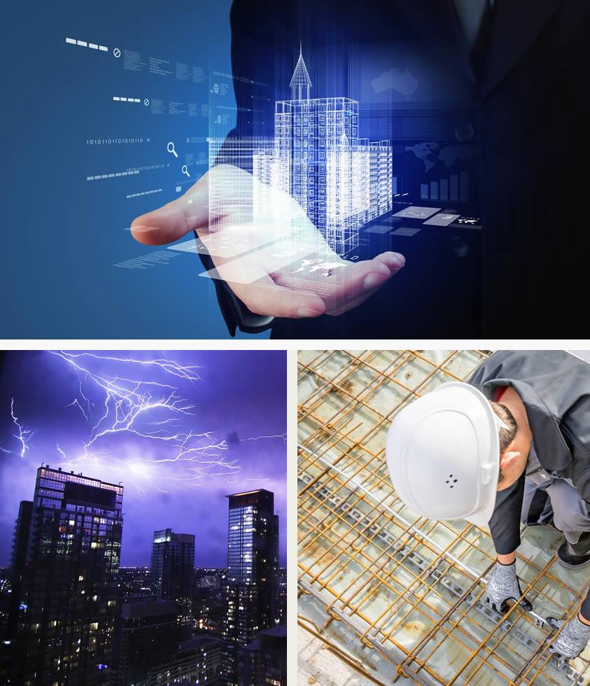 Construir un edificio rayo resistente se debe decidir desde el inicio del proyecto
