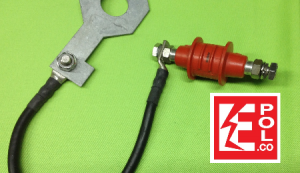 Spark Gap EXFS con cable y Estribo