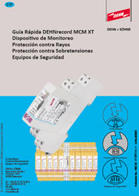 Guía rápida DEHNrecord MCM XT