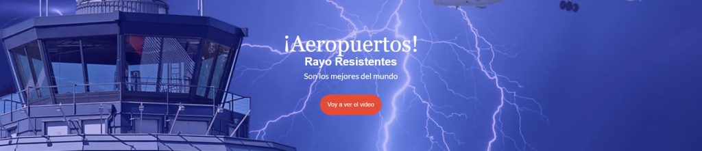Aeropuertos rayo resistentes