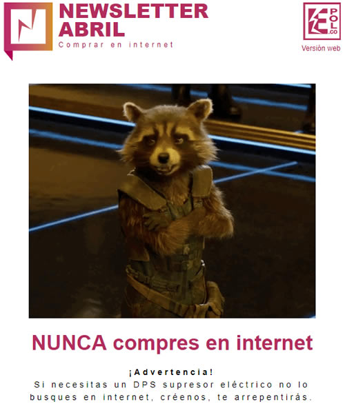 NUNCA compres en internet  ¡Advertencia!