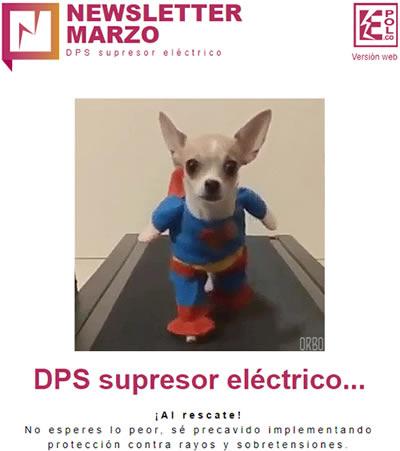 DPS supresor eléctrico…  ¡Al rescate!