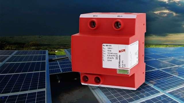 DPS para protección de paneles solares
