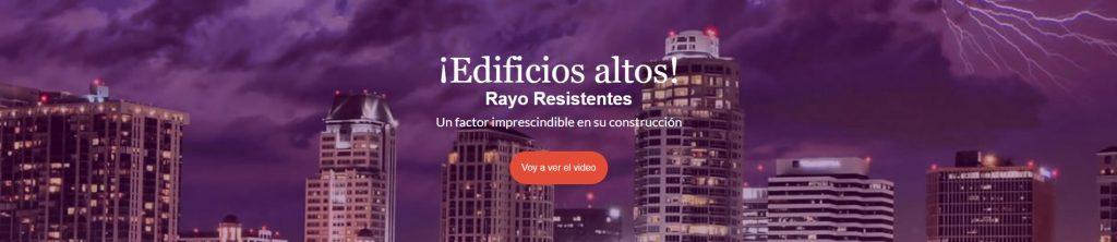 Edificios altos rayo resistentes