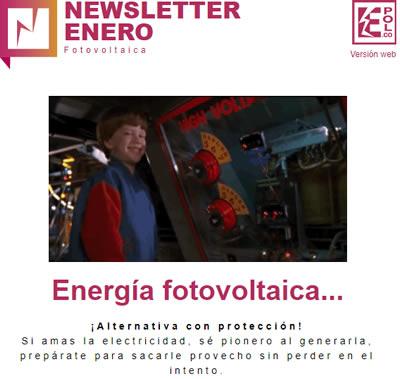 Energía fotovoltaica…  ¡Alternativa con protección!