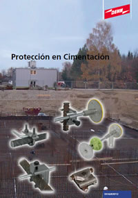 Protección en cimentación